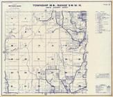 Township 14 N., Range 3 W., Chehalis River, Scammon Creek, Lewis County 1960c